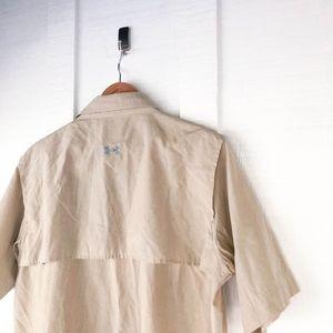 Under Armour Shirts - Under Armour Vented Fishing Hunting Safari Shirt L